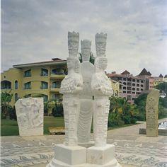 Artistic Pebble mozaik & Roliyef & scalpture. By Mehmet ışıklı Antalya Türkiye. 1999