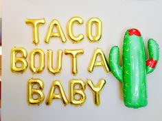 TACO BOUTA BABY Balloons, Taco Bout Twins, Taco Bout Banner, Taco Bout It, Taco Bout A Party, Taco bout baby shower ideas by girlygifts07 on Etsy https://www.etsy.com/listing/506318612/taco-bouta-baby-balloons-taco-bout-twins
