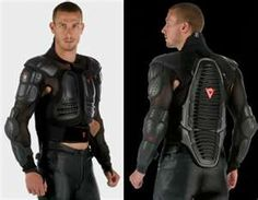 Future » motorcycle body armor > Hope it comes with a matching helmet!