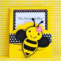 Hey, I found this really awesome Etsy listing at http://www.etsy.com/listing/115633940/custom-bumble-bee-party-invitations-set