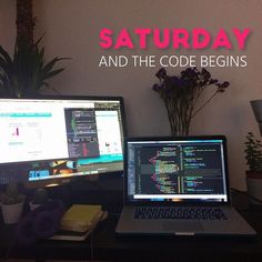 Saturday and coding is still on! Feels like it is going to be a long and productive weekend. Hope to get some good stuff done! Not sure if we should use Symfony or Laravel? Any suggestions?#html5#webdeveloper#css#css3#webdev#webdesigner#uxdesign#uidesign#development#workplace#designagency#designoffice#creativeagency#creativestudio#workinprogress#workspace#interface#userexperience#userinterface#developer#javascript#webdesign#programming#softwaredeveloper#startup#ui#ux#angularjs