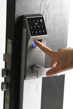 Smart Touchpad keypad digital code induction door lock digital hotel lock home lock - Smart locks - Shenzhen Qianhuilai Technology Co., Ltd