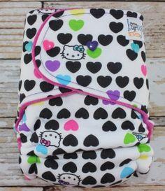 Sweet Hello Kitty dipe stocks today :)
