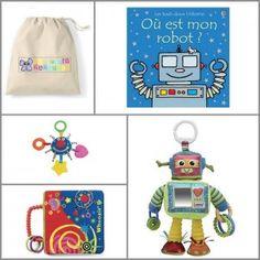 Coffret cadeau enfant - ZAZOPACK+ TIWA ESPACE 6-9 mois - 59.00€   - Livre+Jouets+Pack créatif....Le tout adapté au stade de développement de l'enfant.