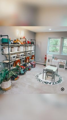Playroom Furniture, Playroom Decor, Playroom Ideas, Toy Room Storage, Kids Playroom Storage, Kid Playroom, Home Organization Hacks, Playroom Organization, Colorful Playroom