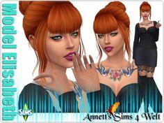 Annett`s Sims 4 Welt: Model Elisabeth • Sims 4 Downloads