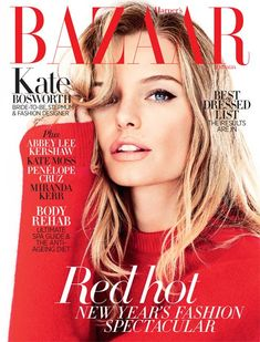 Kate Bosworth - Harper's Bazaar Australia January 2013