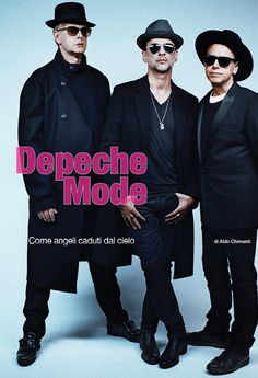 Depeche Mode, From the latest issue of Italian magazine Rockerilla, out since May 4th.