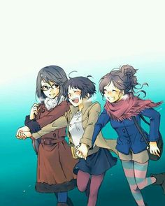 [MoePP][ Akane and her friends on a winter's day! Reborn Katekyo Hitman, Hitman Reborn, Anime Manga, Anime Art, Psycho Pass, Female Characters, Fictional Characters, Anime Love, Manhwa