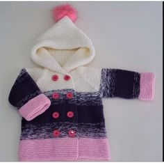 Baby Cover, Baby Knitting, Hoods, Gloves, Children, Pattern, Sweaters, How To Make, Color