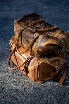 Weekend vibes - All our Vintage handmade leather are truly one of a kind. Handmade with love and all designed here in Australia Weekend Vibes, Winter Wear, Online Bags, Handmade Leather, Travel Bags, Leather Bag, Australia, Suits, Luxury