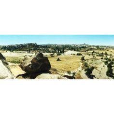 Rock formations Cappadocia Central Anatolia Region Turkey Canvas Art - Panoramic Images (30 x 12)