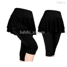 Wholesale cheap pants legging online, yoga - Find best women's yoga lantern women double layer trousers fitness dance pants hypertensiveperson skirt capris 100% cotton free shipping at discount prices from Chinese yoga outfits supplier on DHgate.com.