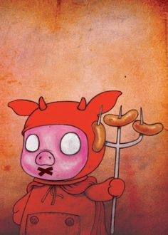 Fabian Ciraolo - Series 01 Digital Illustration (Devil)