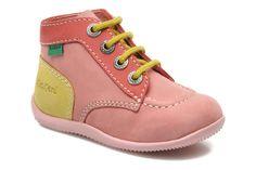 Kickers Bonbon (Rose) - Bottines et boots chez Sarenza (220861)