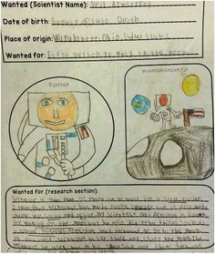 scientist poster project