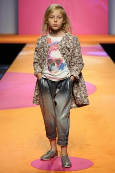 Manila Grace, Mini me styling and a new baggier trouser shape for spring 2016 kids fashion