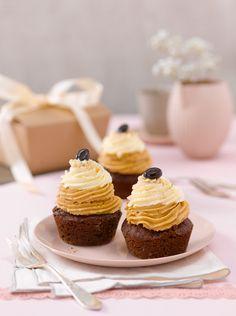 Latte-macchiato-Cupcakes (Heft: März 2013) Foto © Maike Jessen für ARD Buffet Magazin