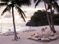 Laid back Tropic Reception Zone | Bali Weddings | Click the image to visit our website for more Bali wedding inspiration!