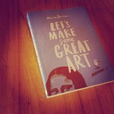 Lets make some great art art #book