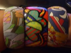 Large Mixed Lot of Bracelets Peace skull bangles Cuffs by PAULIE22, $12.95