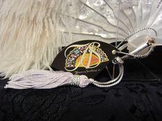 Abanicos Sevillanos.es® Abanico de plumas Feather fan www.abanicosevillanos.es