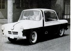 1957 Avia 350 (Czech) 344cc Twin-Cylinder Two-Stroke Air-Cooled Engine at 14Hp