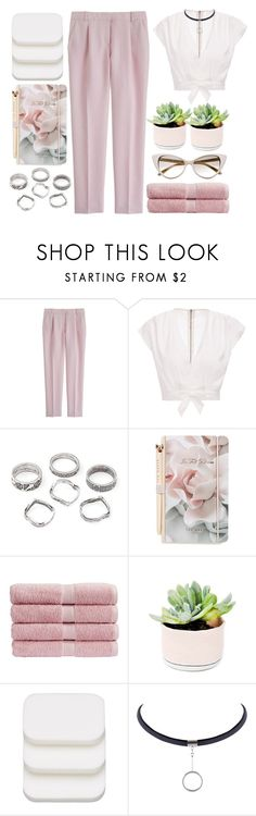 """""""12"""" by credendovides ❤ liked on Polyvore featuring J.Crew, Ted Baker, Christy, COVERGIRL and Tom Ford"""