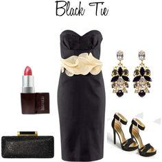 Best Dressed Wedding Guest: Black Tie