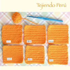 Todos tejemos de una manera diferente y personal (es como nuestra firma!)  Hicimos la prueba en la familia tejiendo estos cuadrados a crochet. Todos tienen 15 cadenas de base y 16 hileras de medio punto (usamos el mismo crochet y la misma lana). Fue muy divertido ver el resultado y las diferencias entre las muestras  Esto se nota también en el tejido en dos agujas... Gracias a Lorena, Lucía, Caty y Anchi que nos ayudaron con el experimento  #tejer #crochet #knit #ganchillo #palitos