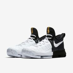 Official imagery of the Nike KD 9 BHM is featured. Availability at select Nike retailers is set for February Slip On Tennis Shoes, Kd Shoes, Nike Air Shoes, Hype Shoes, Sock Shoes, Shoes Sneakers, Jordan Shoes, Girls Basketball Shoes, Adidas Basketball Shoes