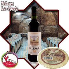 Pack disponible para comprar vino La granja de la Dehesa online con una super oferta con regalo incluido