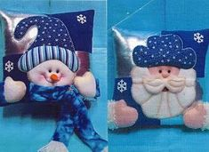 Christmas Applique, Christmas Sewing, Christmas Pillow, Christmas Crafts, Christmas Ornaments, Christmas Ideas, Primitive Doll Patterns, Diy Wood Signs, Teddy Bear