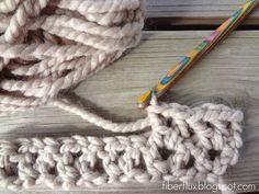 Woven stitch how-to Crochet Pinterest Stitches, How To Crochet ...