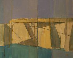 "Saatchi Online Artist: steven heffer; Acrylic 2013 Painting ""Edge"""