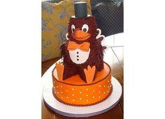 Hokie Bird cake