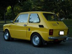 1976 Fiat 126P Fiat 126, Vintage Cars, Bike, Classic, Vehicles, Collection, Design, Bicycle Kick, Trial Bike