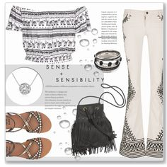 Hippie chic by sherri40 on Polyvore featuring moda, H&M, Alice + Olivia, Billabong and MoMo