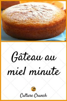 GÂTEAU AU MIEL MINUTE : la recette facile - Expolore the best and the special ideas about French recipes Vegan Fruit Cake, Rum Fruit Cake, Chocolate Fruit Cake, Fresh Fruit Cake, Fruit Fruit, Easy French Recipes, Cuisine Diverse, Homemade Cake Recipes, Recipes
