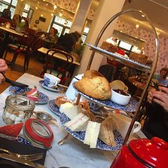 Afternoon Tea in Liberty, London