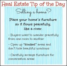 A great tip if you're selling your home