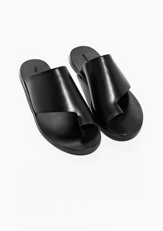 & Other Stories | Slip-In Leather Sandals