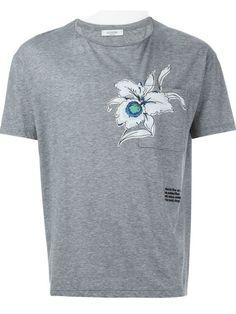 VALENTINO Orchid Short Sleeve T-Shirt. #valentino #cloth #t-shirt