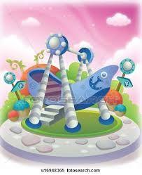 """Résultat de recherche d'images pour """"swing in the garden   illustration"""""""