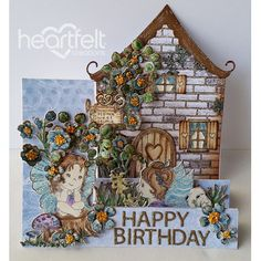 Heartfelt Creations - Cottage Darlings Birthday Project