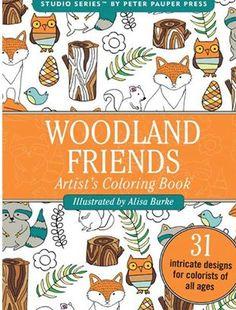 floresta livro de colorir portátil