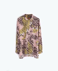 OVERSIZED UNISEX,LONG SLEEVE SHIRT WITH LOOSE FIT, CRUISY DETAILING & ORIGINAL DUSTY PINK WITH ...