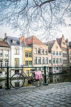 Cobblestone in Amsterdam