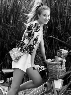 à bicyclette!