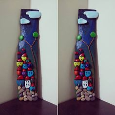 """* تابلو سنگی خونه Cod: 106 #نقاشی #هنری #سنگ #کاردستی #کاردست #نقاشی_روی_سنگ…"